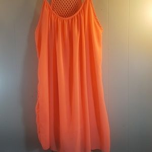 Dresses & Skirts - Bright Orange Sundress